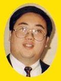 """1997年9月 首届""""宝丽美洁杯""""五子棋棋王电视快棋赛 棋王那威"""